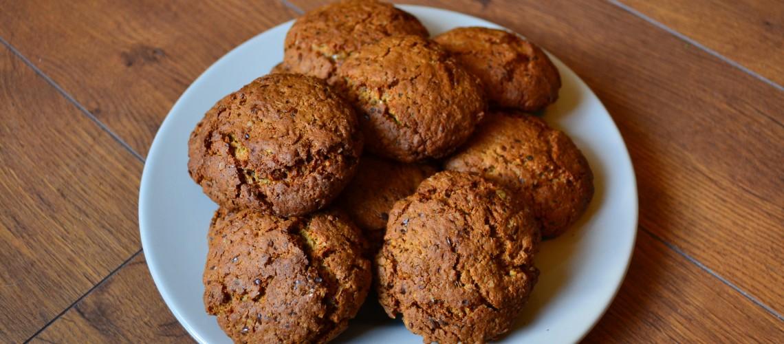 Havermout lijnzaad koekjes