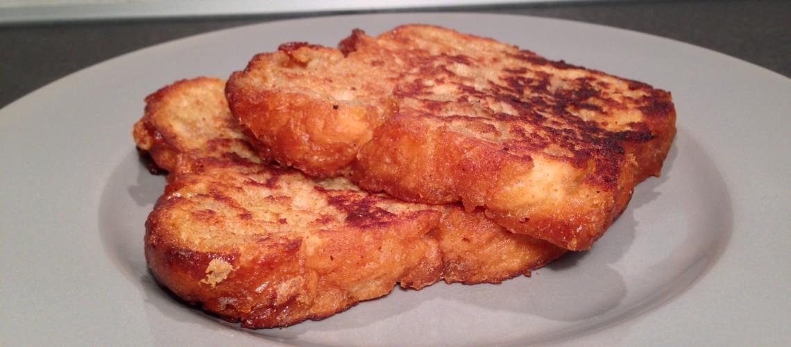 Suikerbrood wentelteefjes