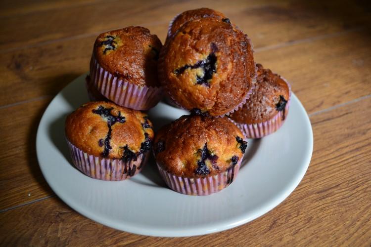 Bleuberry muffins